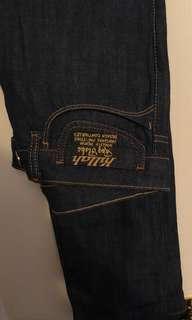 Designer jeans size 30 fits like size 7