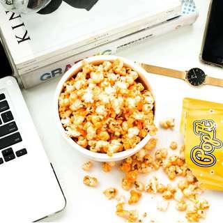 PopIt Snack Cheese Popcorn /Aroma dan Rasa Keju / Keju Cheddar Bakar - Cheese