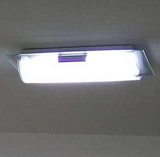 Big 36W LED glass ceiling light