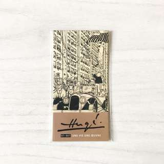 Authentic Tin Tin Magnetised Bookmark - brand new
