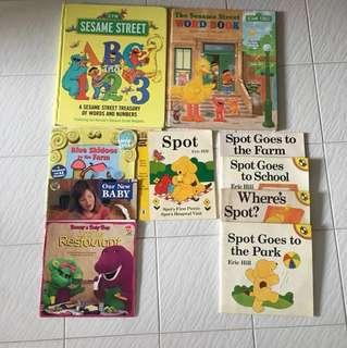 10 books for $2.50 Toddler Books