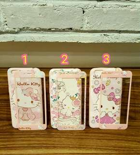 Softcase 360 hello kitty/melody + tempered glass