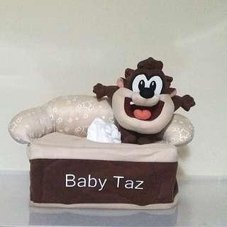 Baby Taz Tissue Box Cover