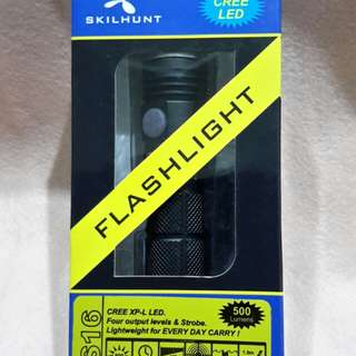 SKILHUNT DS16 FLASHLIGHT ( max up to 500 LUMENS)