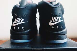 Air Jordan V Retro OG Black Metallic
