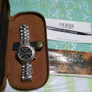 1996 Guess Watches with Guarantee record and Guidebook