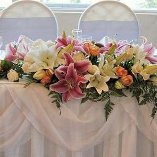 Wedding Table Flower Arrangement Centrepiece Table Decoration∕Fresh Flowers∕Bouquet - 42E2