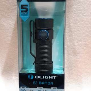OLIGHT  S1 BATON ( 500 LUMENS ) MINI FLASHLIGHT