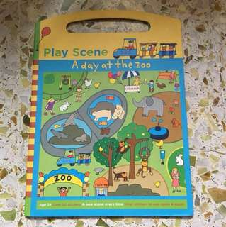 Play Scene - A day at the zoo