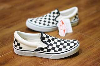 Vans Slip-On DX Checkerboard JAPAN MARKET