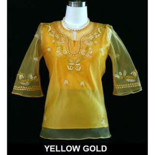Lady's Barong (Choose Color and Size)