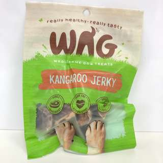 WAG Organic Dog Treats (Kangaroo Jerky)