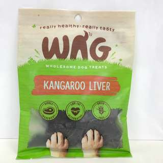 WAG Organic Dog Treats (Kangaroo Liver)