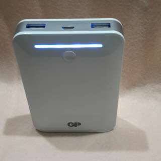 GP POWER BANK (10400 MAH)2 outputs  1A &2.1A