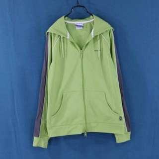 🚚 Reebok 淡綠色 透氣 運動外套