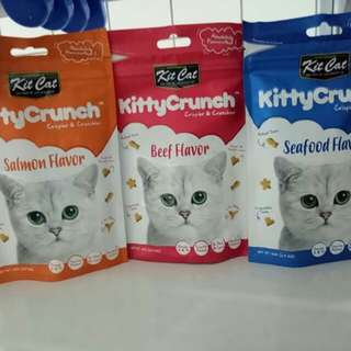 Kit Cat (kitty crunch), 600g *Now instock*