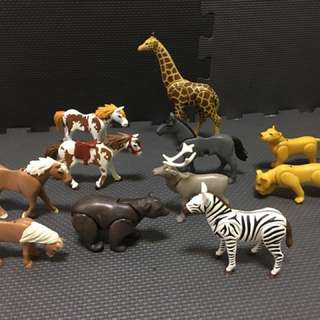 PLAYMOBILE ANIMAL SET 11 pcs