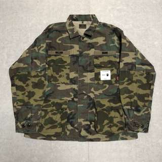 WTAPS x BAPE JUNGLE L/S SHIRT