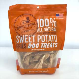 Wholesome Pride Dog Treats (Sweet Potato Fries)