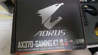 AMD Ryzen R7 1700X + Gigabyte Aorus AX370 Gaming AX370 K7