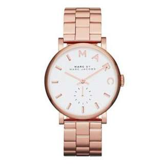Marc by Marc Jacobs Rose Gold-tone Ladies Watch MBM3244