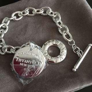 Inspired Silver bracelet