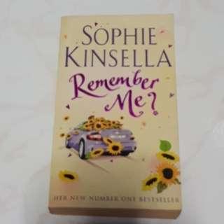 Remember me - Sophie Kinsella