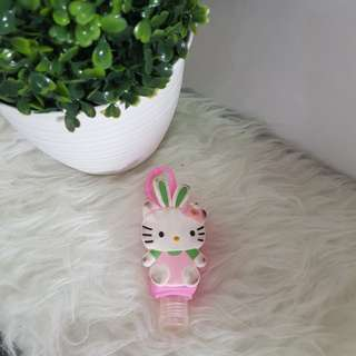 Cute hand sanitizer hello kitty bunny pink