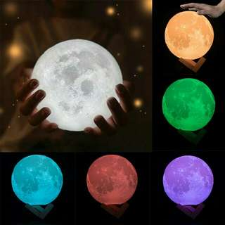 16 Colors Moonlamp with remote control