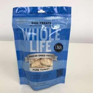 Whole Life Originals Dog Treats (Pure Turkey)