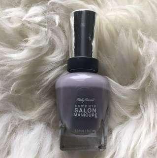 Sally Hanson Purple Grey Nail Polish