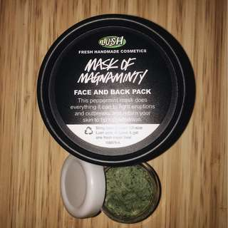 share in jar lush mask of magnaminty