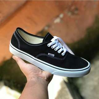 Vans Authentic Classic Black White Premium Quality Made In China