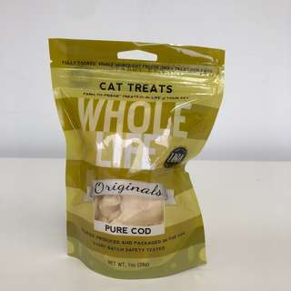 Whole Life Originals Cat Treats (Pure Cod), 1oz