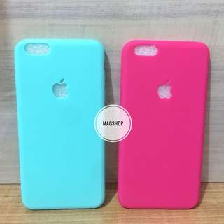 Iphone 6 plus casing / 6+ case silicon jelly tebal
