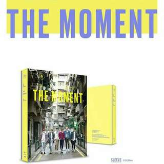 JBJ - THE MOMENT 1ST PHOTOBOOK ( LIMITED EDITION )