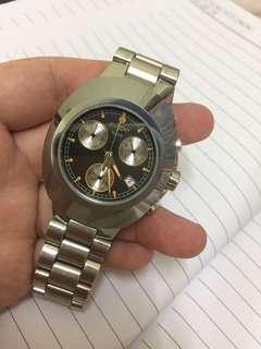 RADO 礦石錶圈 電子 100m 90%new 足帶