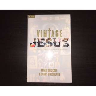 Vintage Jesus Timeless Answers to Timely Questions Hardcover LIKE NEW! CHEAP! Mark Driscoll Gerry Breshears