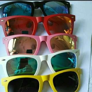 HD high Definition Polarized UV400 Clip-On Sunglasses. Available In 8 Awesome Colours. Anti-Glare, Anti-Reflective,  Anti-Scratch. Ready Stocks!