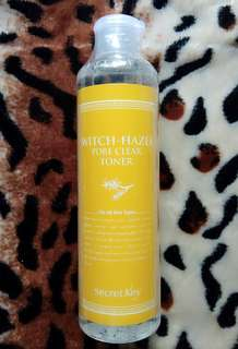 SECRET KEY WITCH HAZEL PORE CLEAR TONER 248ML