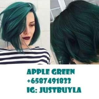 *Instock* Green Hair Dye
