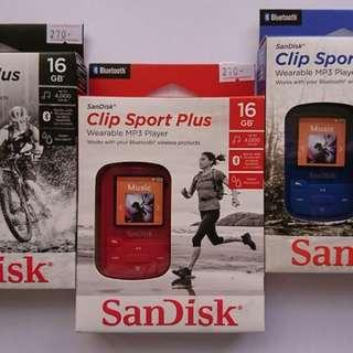 LF: Sandisk Clip Sport/ Sandisk Clip Sport Plus