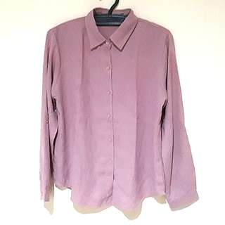 Pink Simple Shirt