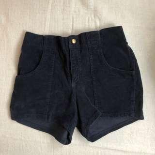 American Apparel Corduroy Shorts