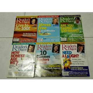 Reader's Digest (Dec 2003 to May 2005)