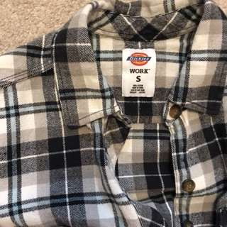 Vintage Dickies flannel size S