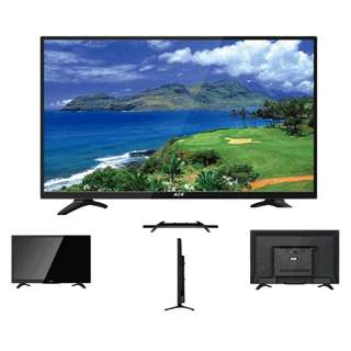 "Ace 32"" Slim LED TV Black LED-808 DN4"
