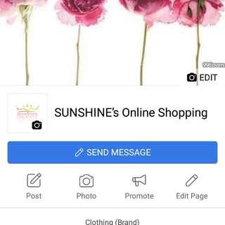 sunshine's onlineshopping