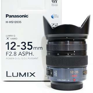Panasonic Lumix 12-35mm F2.8 lens