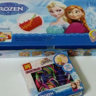 Frozen diy colorful loom bands